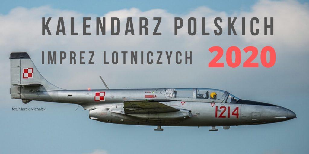 Kalendarz Polskich Imprez Lotniczych 2020